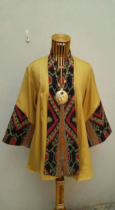Model baju Blouse Batik, Batik Dress, Ghanaian Fashion, African Fashion, Big Size Fashion, Thai Fashion, Batik Fashion, Thai Dress, Ethnic Outfits