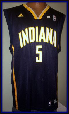 28f550e5e Indiana pacers vintage t. j. ford adidas adult large jersey new without tags
