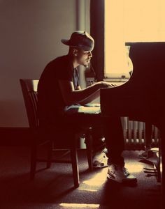 J. Cole can play piano who knew
