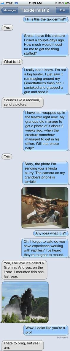 This guy handles prank texts like a pro