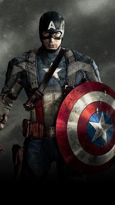 Captain America The First Avenger 2011 Phone Wallpaper Moviemania In 2021 Captain America Wallpaper Captain America Avengers