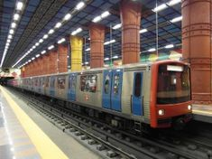 Underground Tube, Metro Subway, U Bahn, Jukebox, Scenery, Europe, World, Youtube, Cascais