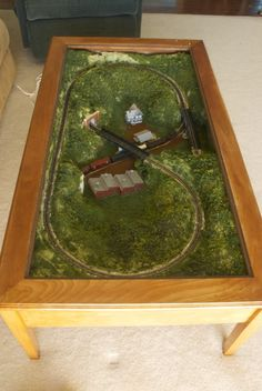 Coffee table N-scale layout ideas with links to other threads - Model Train Forum
