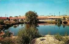 Murray Utah UT 1950s El Rancho Murray Motel Roadside View Vintage Postcard
