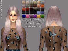 Shiny, smooth texture Custom CAS image HQ mod... - ANGISSI