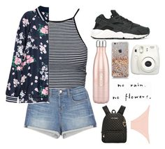 """""""we've been going through a lot lately but you still my baby"""" by questionable-desires ❤ liked on Polyvore featuring Estradeur, J Brand, NIKE, Fujifilm, GET LOST, Betsey Johnson and Melissa Odabash"""
