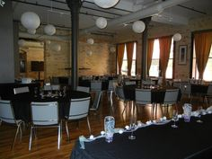 Customize the layout of your private event!