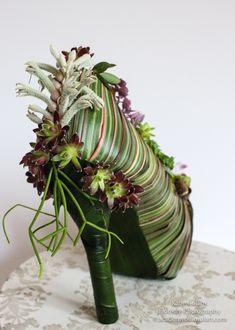 botanical shoe detail 2, demo for workshop in Devon, Francoise Weeks |this idea for shoes no longer worn!