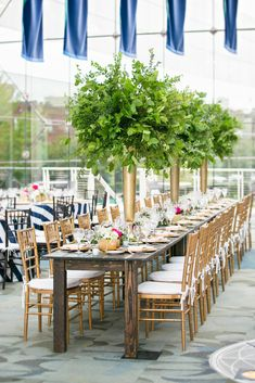 Lush Green Floral, Gold Chiavari Chairs, striped wedding linens, Central Library Indianapolis Photo by Jennifer Driscoll Photography. Event by Mon Amie Events, Inc Wedding Linens, Wedding Rentals, Wedding Events, Library Wedding, Striped Wedding, Wedding Highlights, Simple Weddings, Wedding Simple, Garden Gifts