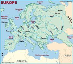 European Rivers #geography #week4