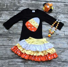 - Includes top, skirt, bow and necklace