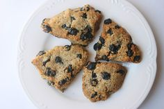 Flour/gluten free Blueberry scones! Uses Almond flour! Get your scones without the carbs! I made mine with half coconut flour so it would be a bit lighter and cake like