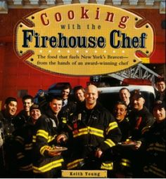 This is my old friend Keith's firehouse #cookbook. We used to work at a rib joint in NY. He'd sign to the guests. Funny guy and a great cook.