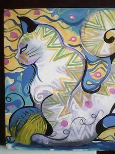 Gatos na arte!