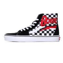 Vans x David Bowie - Bowie / Checkerboard - UK 11 Earth Two, Vans Store, Sk8 Hi, Vans Sk8, Skate Shoes, David Bowie, Sports Shoes, Fashion Brands, Shoes
