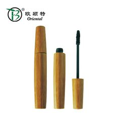 9ml empty bamboo mascara tubes eco-friendly packaging bamboo cosmetic container empty thin mascara tube plastic inside