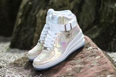 a49928a9e6db Here we have a hot Nike WMNS Lunar Force 1 Sky Hi that makes will have you  shining bright all Summer long.