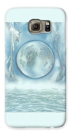 Turquoise Dream Galaxy S6 Case Printed with Fine Art spray painting image Turquoise Dream by Nandor Molnar (When you visit the Shop, change the orientation, background color and image size as you wish)