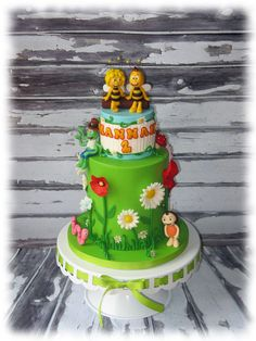 Maya the Bee - Cake by EG - CakesDecor