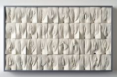"""A Grande Muralha da Vagina"", de Jamie McCartney."