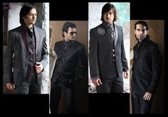 goth groom attire | Gothic Suit for Groom http://blog.cbazaar.com/wp-content/uploads/2010 ...