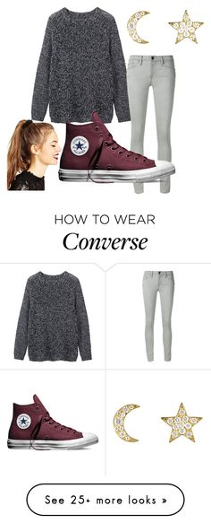 """Underdog"" by looking-for-ravens on Polyvore featuring Toast, Frame Denim, Converse, Finn and ASOS"