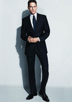 922e577c01 Giorgio Armani s navy blue suit.  groom Sharp Dressed Man