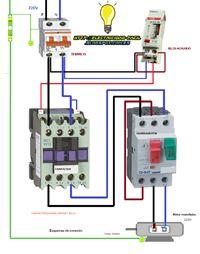 Esquemas eléctricos: esquema conexión motor monofasico contactor guardo...