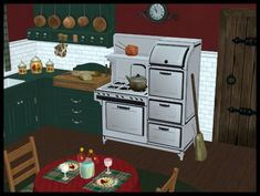 2010 Winter Holiday Gift 5-Memories Stove-Now Base Game Version Too!