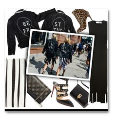 """""""NYFW Street Style"""" by voguefashion101 ❤ liked on Polyvore featuring Christian Louboutin, Victoria Beckham, Rochas, women's clothing, women, female, woman, misses and juniors"""