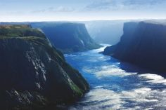 Gros Morne Fjords - a national park not to far where i grew up...but it was raining when i had the time to get there, so perhaps a hike on a dryer day in the future...