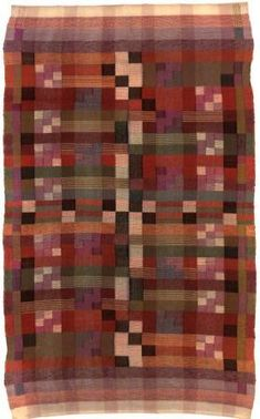 ¤ Benita Koch-Otte (1892-1924) Wandbehang, Bauhaus Weimar, 1924 Halbgobelin, Baumwolle, Wolle 175,5 x 110 cm Inv.Nr. XII/7516