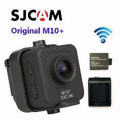 [ $38 OFF ] !original Sjcam M10 Plus Wifi 2K Novatek Ntk 96660 Cpu Gyro Sport Action Camera+Extra 1Pcs Battery+Battery Charger