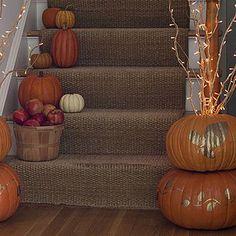 Easy Halloween pumpkin crafts: Gold pumpkins