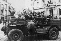 SAS jeep crew, France 1944