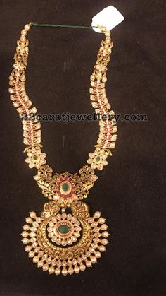 Pachi Necklace 92 Grams - Jewellery Designs