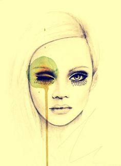 beauty drawing