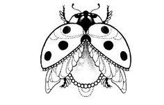 Tattoo Lady Bug Tattoo, Bee Tattoo, Calf Tattoo, Baby Tattoos, Body Art Tattoos, Ladybird Tattoo, Insect Art, Neo Traditional Tattoo, Future Tattoos