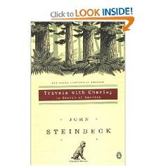 """Travels with Charley"" by John Steinbeck is recommended by Stacy Dean Campbell from the television series 'Bronco Roads'"