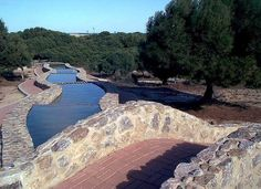 Parque del molino de agua, La Mata, Torrevieja, Spain