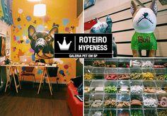 Desde os primórdios, o homem tem encontrado boa companhia ao lado de animais. Eles são carinhosos, leais, amigos e, mesmo errantes, fazem de tudo para nos agradar. Se isso não é amor, eu não sei o que é. Como forma de retribuir todo esse carinho - e também morder uma isca do mercado -, a Galeria Pet reúne num só espaço artes decorativas, loja e padaria para cães e gatos. O local não poderia ser mais estratégico: na Rua Oscar Freire, em São Paulo, onde é comum ver os bichos passeando entre as…
