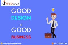Good Design is good business. Are you looking for professional responsive web design and logo design Drop a mail at iwebwayindia@gmail.com or call +91-7289021390 for knowing more about us. #WebDesigningCompany, #WebDevelopmentCompany, #SEO, #SMO, #PPC, #IWEBWAY