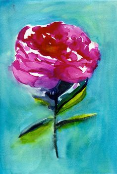 Peony by Christine Lindstrom on Artfully Walls