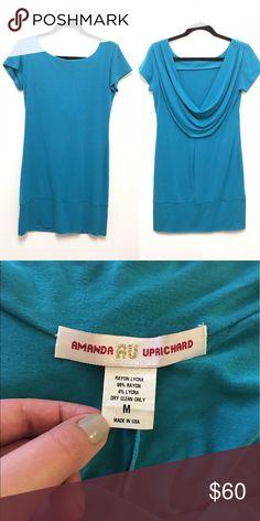 02075da0b622 AMANDA UPRICHARD. Drape back dress
