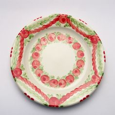 veronica Veronica, Serving Bowls, Plates, Tableware, Red, Green, Tablewares, Licence Plates, Dishes