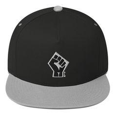 Flat Bill Cap - BLM Primary Colors, Snapback, Color Pop, At Least, Handmade Items, Cap, Etsy, Baseball Cap, Snapback Hats