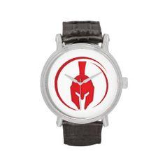 Warriors Helmet Ancient Greek Wristwatch