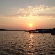 Nj sunset. Windward Beach, Brick
