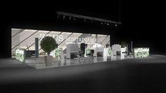 436 Heizungsanlagen Zeus Sustainable | Eindrucksvoller Messestand für einen Hersteller von Heizungsanlagen.   Die hohe, rahmenlos bedruckte Leuchtwand macht Eindruck und bietet dem Betrach...