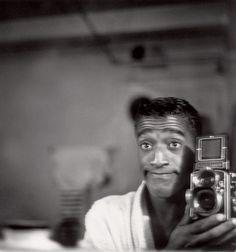 Sammy Davis Jr. with a Rolleiflex | 33 Celebrities With Their Cameras